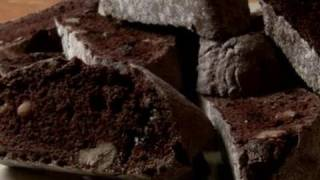 How To Bake Chocolate Walnut Biscotti Cookies