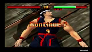 Virtua Fighter 3th Akira Arcade Sega Dreamcast Gameplay