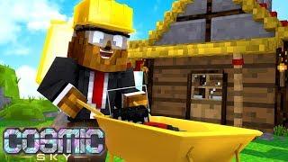 Auto-Robot Miner (Minecraft 1.14 Recipe) - Minecraft Cosmic Sky #16 | JeromeASF