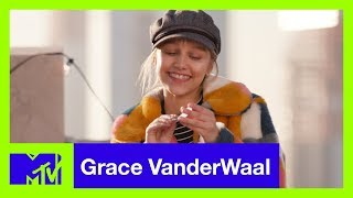 Grace VanderWaal Improvises Songs in a Game of 'Uke Box' | #MTVXGRACE