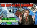 Tolarian Winds - The Buy-A-Box Blunder! A Magic: The Gathering VLOG