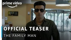 The Family Man - Official Teaser | Raj & DK | Manoj Bajpayee | New Amazon Original | Sept 20, 2019