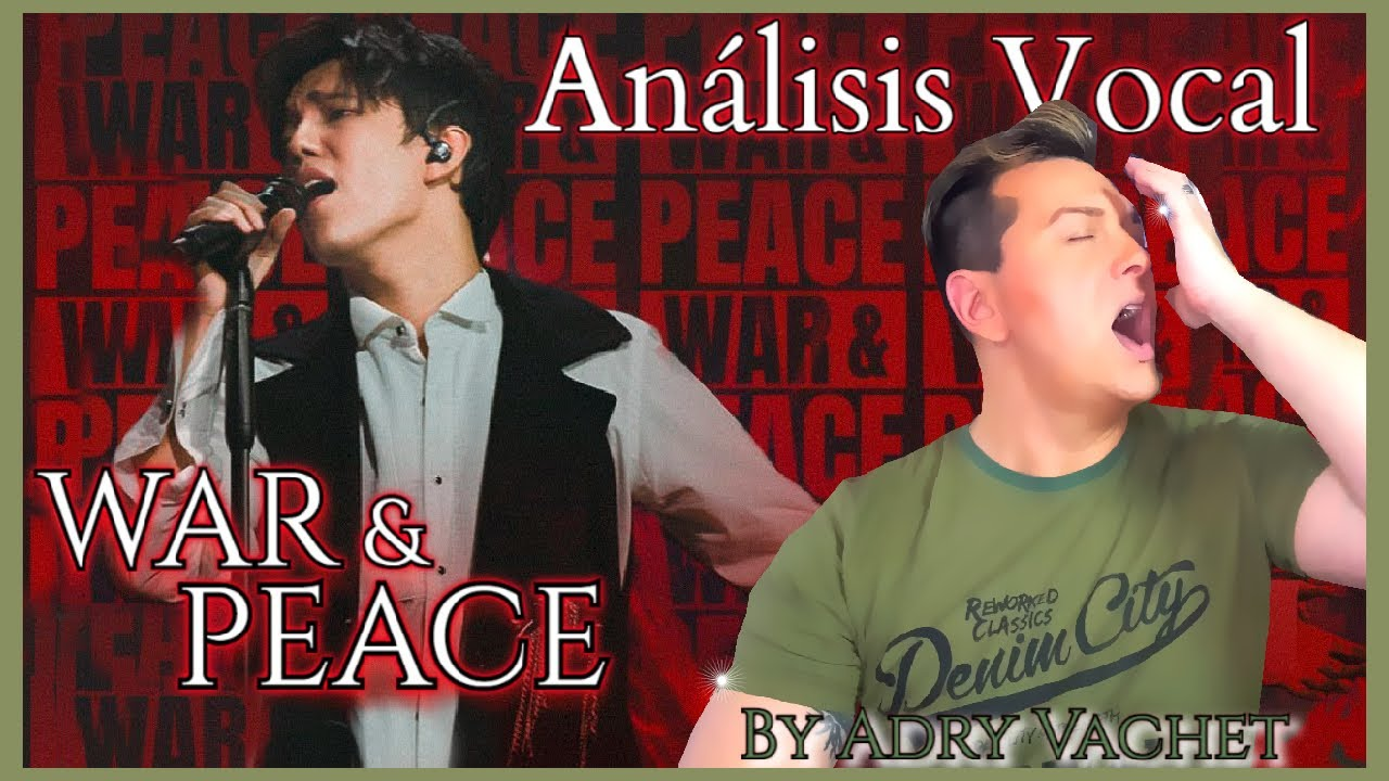 Download DIMASH - Guerra y paz ( War and Peace) 2021 reaction por Adry Vachet