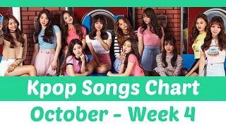 Download [TOP 30] K-Pop Songs Chart - October 2016 (Week 4) Mp3