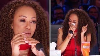 "Top 3 ""WOMAN In TEARS"" AUDITIONS On America's Got Talent!"