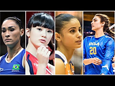 10 Most Beautiful Volleyball Players 2017 (HD)