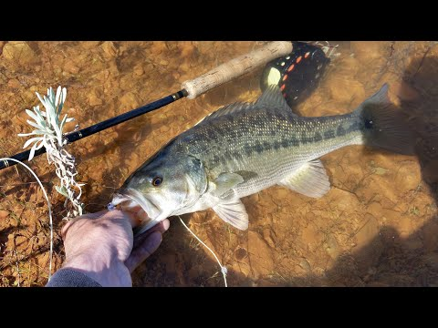 Bass On The Fly: Public Reservoirs By Foot Instructional (Part 1 Of 3)