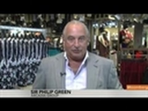 Philip Green Says Arcadia `Still Growing' Globally