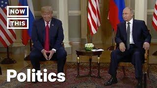 Donald Trump and Vladimir Putin Meet Face-to-Face at 2018 Helsinki Summit | NowThis
