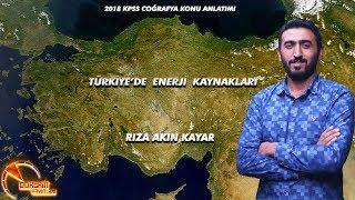 2018 KPSS TÜRKİYE'DE ENERJİ KAYNAKLARI