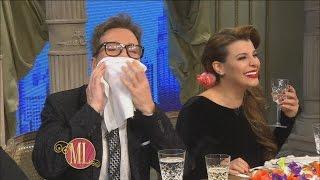 Momento emitido en Almorzando con Mirtha Legrand, el domingo 09/10/16. ¿Qué pasa si Charlotte y Alexander Cannigia se sientan a almorzar junto a Guido y ...