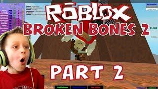 Roblox: Broken Bones 2 #2, insane falling and breaking bones! | KID GAMING