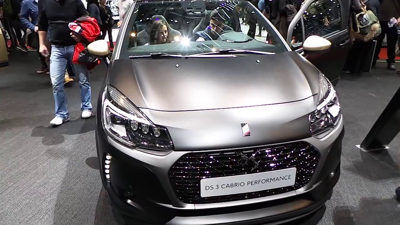 ds3 performance black special edition youtube