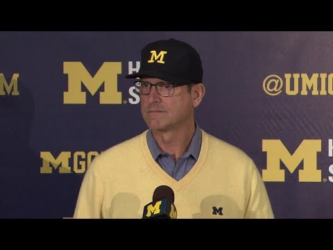 Jim Harbaugh Rutgers Week Press Conference