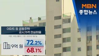 """아파트 공시가격 확 오른다…""""2030년까지 시…"""