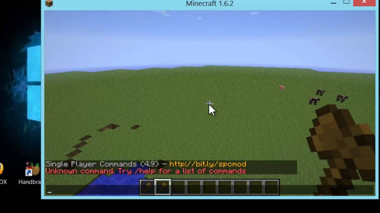 How to add Minecraft Schematics into Minecraft Singleplayer (1.6.2 Worldedit Schematics on