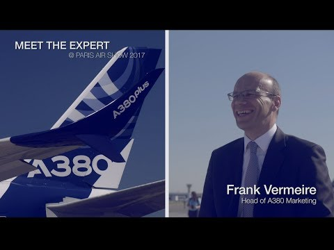 Meet the Expert: Frank Vermeire, Head of A380 Marketing