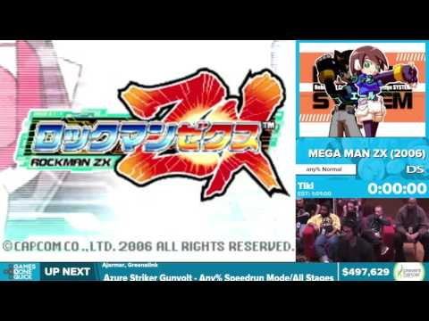 Mega Man ZX By Tiki In 55:54 - Awesome Games Done Quick 2016 - Part 116