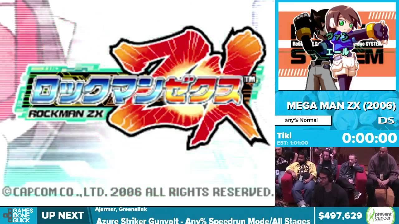 Mega Man ZX By Tiki In 5554