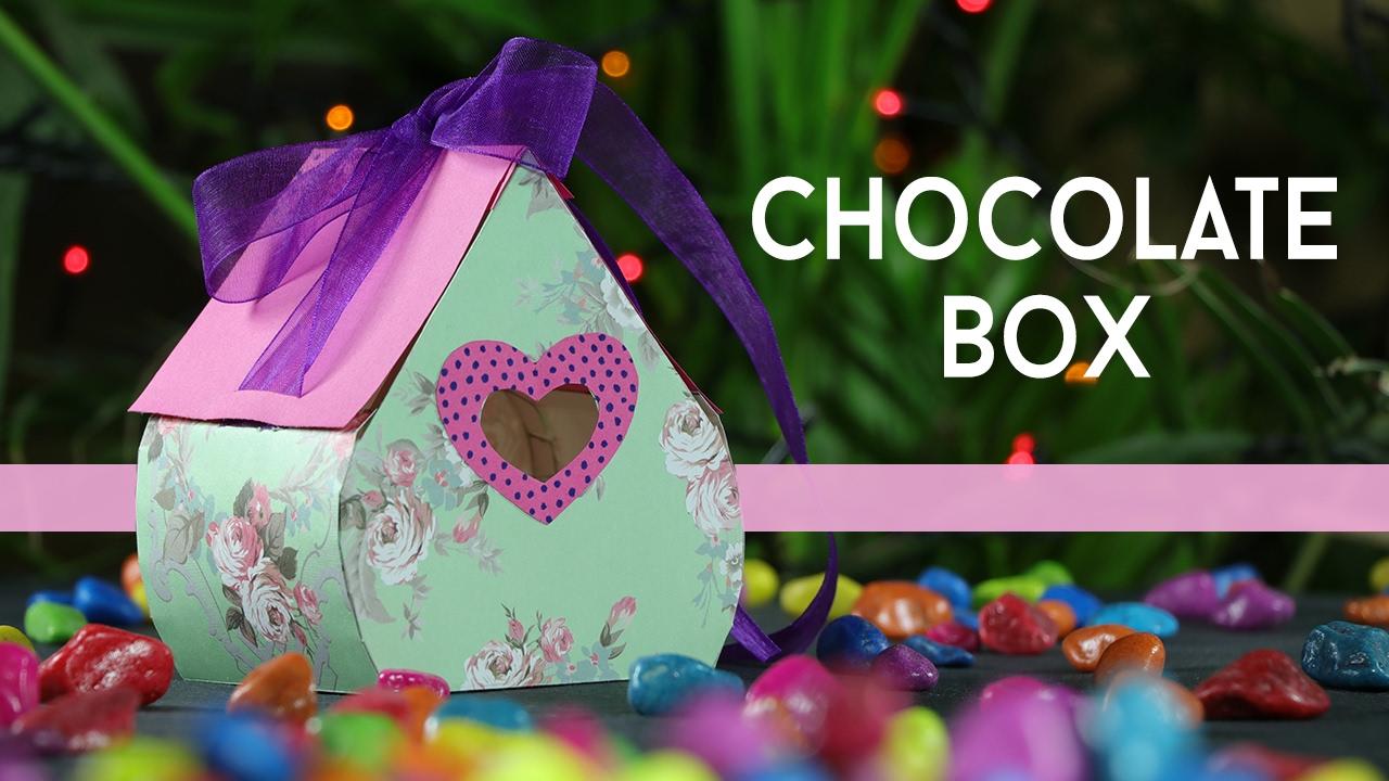 Diy Gift Box How To Make Valentine Chocolate Gift Box Step By Step Youtube
