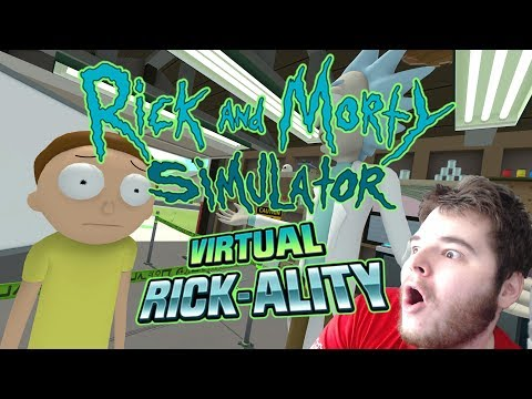 VIRTUAL RICK AND MORTY! [OCULUS RIFT VR]