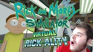 VIRTUAL RICK AND MORTY! [OCULUS RIFT VR]