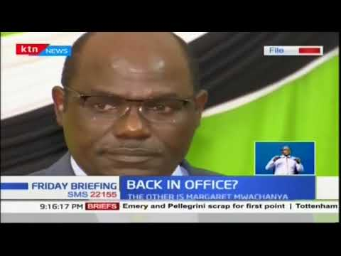 Drama at IEBC offices as resigned commissioners sneak back into offices