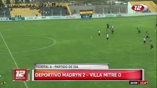 Deportivo Madryn vs Villa Mitre