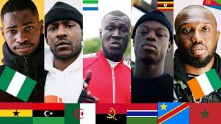 Popular UK RAPPERS with AFRICAN heritage- Stormzy, Headie, Abra, Fredo, Skepta, J Hus, SL, Tion, KSI
