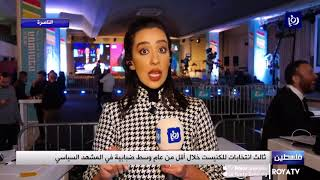انتخابات ثالثة لكنيست الاحتلال ( 2/3/2020)