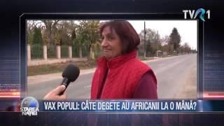 Vax Populi - Câte degete au la o mână oamenii din Africa