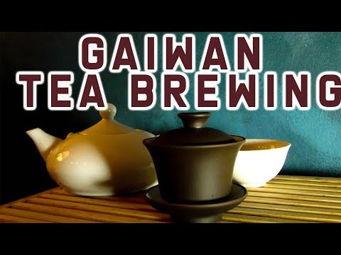 Steeped Tea - How to make loose leaf tea with Gaiwan