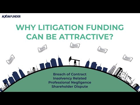 Why Litigation Funding can be Attractive?