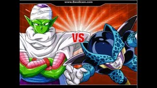 z fighters vs cell jrs