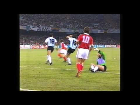 The FIFA cover up: Argentina - USSR WC1990 Maradona Hand Ball Igor Shalimov Breakthrough