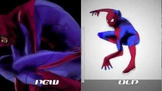 AMAZING SPIDER-MAN QUICK DRAW COMPARISON