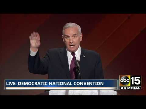 FULL: Governor Mark Dayton - Democratic National Convention