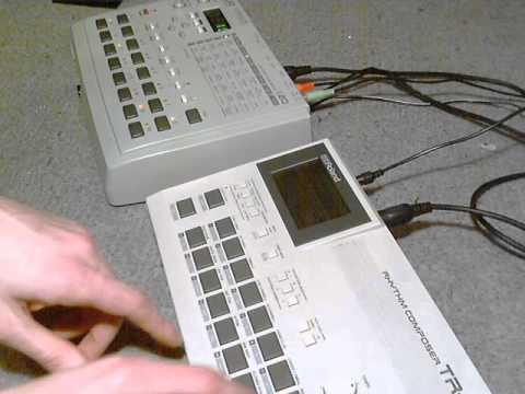 akai s20 sampler midi coupled with roland tr 505 drum machine youtube. Black Bedroom Furniture Sets. Home Design Ideas
