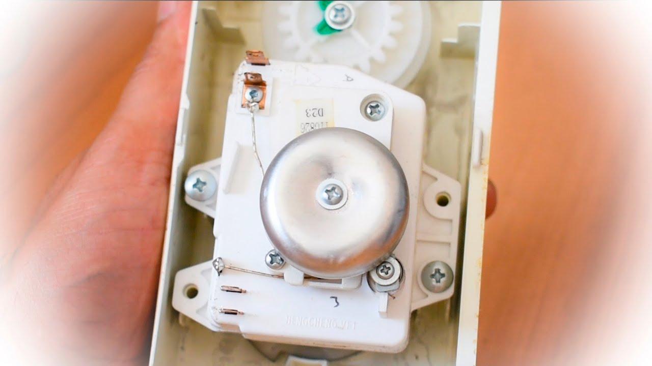 Microondas no funciona, problema con el temporizador