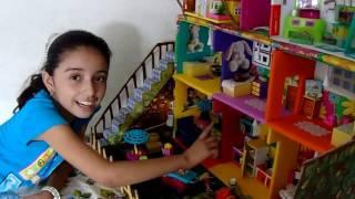 Casa de muñecas polly pocket para Daniela