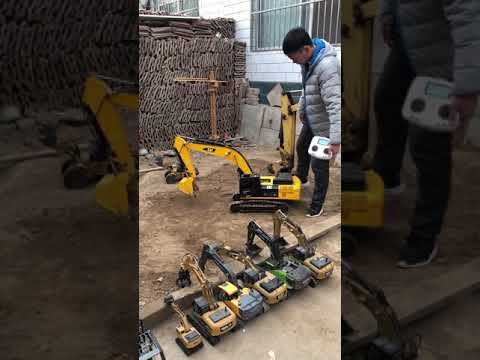 Powerful Engine Technology Of RC Excavator/Car Toys | RC Ryen 5 #2021