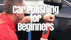 Car Polishing for Beginners: one-step compounds and polishes