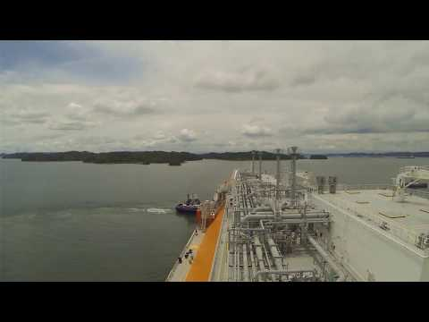 Panama Canal in 5 Minutes | Full Transit LNG Timelapse