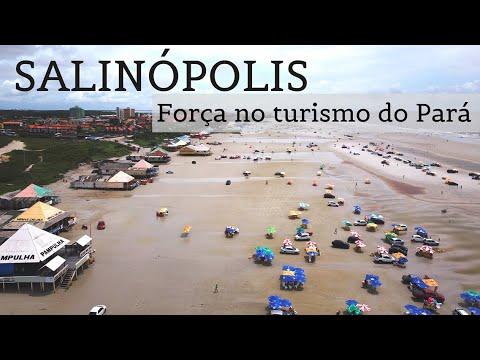 Salinópolis, c/ praia de mar no Pará, organiza evento de turismo em agosto 2020