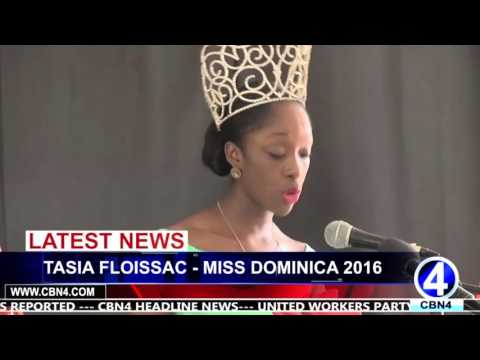 MISS DOMINICA LAUNCHED PLATFORM