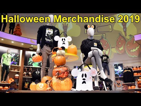 Halloween Merchandise First Look 2019 at Walt Disney World - World of Disney - Apparel, Plush & More