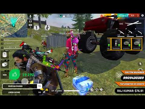 Free Fire Live - Squad With Best Loosed Match- Total Gaming