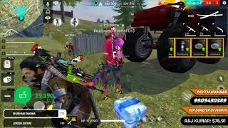Free Fire Live - Solo vs Squad One Man Army- Total Gaming