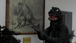 Godzilla (Badly) Explains His Origin
