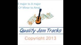 Beautiful Modern Bluesy / Rock  / Country Guitar Backing Track 72 bpm Ballad